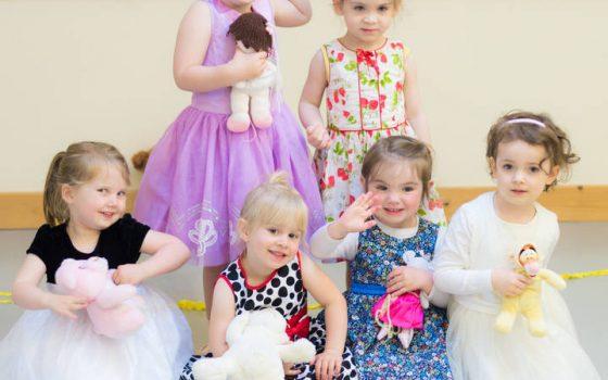 Melody & Milligan Bear Ballet Classes